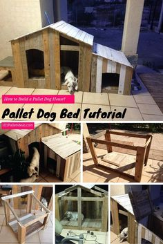 How to Build a #Pallet Dog #House? - DIY | 101 Pallet Ideas