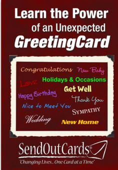 26 best why send out cards images on pinterest custom greeting this is a real card not an e card shared from sendcere learn the power of an unexpected greeting card for new customer or prospect m4hsunfo