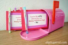 Easy Homemade Valentines for School - http://www.diyinspired.com/easy-homemade-valentines-school/ #diyinspireddotcom