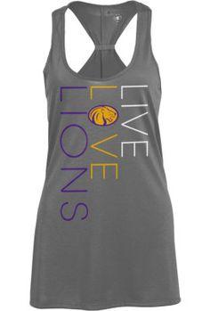 University of North Alabama Womens Swing Tank Top Lions Live, Sports Fanatics, Sweet Home Alabama, Alma Mater, School Spirit, College Life, Tanks, Athletic Tank Tops, University
