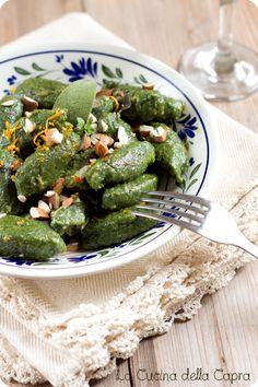 gnocchi spinaci ricotta di tofu