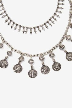 Amah Double-Strand Charm Necklace - Accessories | Necklaces