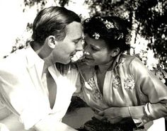 Katherine Dunham and John Pratt (her husband and theatrical designer), 1939. Missouri History Museum  Photograph by (Lette) Valeska, Los Angeles.