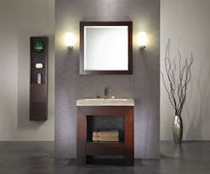 Photo Gallery For Website Xylem Europa in Single Bathroom Vanity with Stone Top and Optional Mirror Bathrooms Pinterest Single bathroom vanity Bathr u