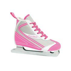 Lake Placid Starglide Double Runner Figure Skates - Girls, Multicolor