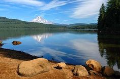 Timothy Lake, Oregon  Best camping spot...good for kayaking, swimming, hiking and biking!   Absolutely love it here :)