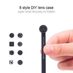 Amazon Com Mini Spy Cam Hidden Camera Conbrov T16 720p Portable Small Nanny Cam With Night Vision Perfect Indoor Security Surveillance Camera Fo