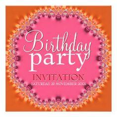 Bohemian Dinner Party Invitations