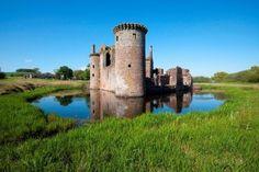 Chateau de Caerlaverock, Dumfires and Galloway, Ecosse