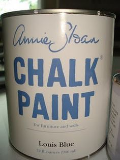 Chalk Paint for refinishing furniture and other uses.  Want to try this!