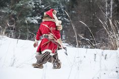 Woolen Viking Coat | Yule edition