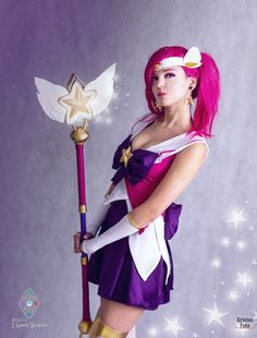 Star Guardian Lux from League of Legends by xAndrastax