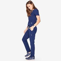 FIGS makes 100% awesome medical apparel made with ridiculously soft, technical fabrics tailored to perfection.