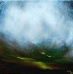 'Breaking Through II'  by John O' Grady,    Irish, Landscape, Painting, Ireland, art