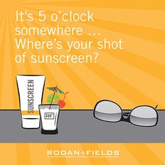 Ecard shot of Sunscreen