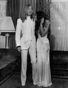 Love that vintage gown. June Gregg Allman & Cher's wedding photos. Divas, Celebrity Couples, Celebrity Weddings, Celebrity Wedding Dresses, Chaz Bono, Wedding Styles, Wedding Photos, Dream Wedding, Wedding Day