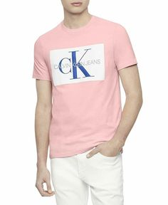 259bb424 Calvin Klein Men'S Short Sleeve Monogram Logo T-Shirt #fashion #clothing  #shoes