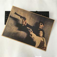 Barato 30*42 cm Filme Leon The Professional Jean Reno Natalie Portman Bar cartaz pintura decorativa imagem sala de estar, Compro Qualidade Adesivos de parede diretamente de fornecedores da China:                                        Fight club Movie Brad Pitt