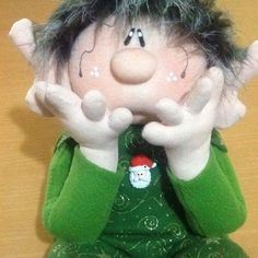 Christmas Room, Christmas Mantels, Christmas Elf, Holiday Ornaments, Holiday Decor, Christmas Things, Elves And Fairies, Soft Sculpture, Handmade Design