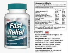Fast Relief info