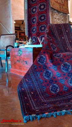 Being able to recognize a rug and know its origins and worth is incredibly rewarding.