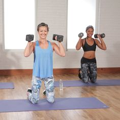 The latest tips and news on Strength Training are on POPSUGAR Fitness. On POPSUGAR Fitness you will find everything you need on fitness, health and Strength Training. Summer Workout Plan, Workout Days, 30 Minute Workout, Workout Challenge, Tabata Workouts, Strength Training Workouts, Dumbbell Workout, Body Workouts, Fitness Workouts