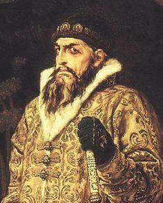 Iván IV Vasílievich , llamado Iván el Terrible (Kolómenskoye, Rusia, 25 de agosto de 1530 - Moscú, 18 de marzo de 1584) fue un zar de Rusia (1547-1584). Fue el primero en llevar el título de zar (desde 1547) y es considerado como uno de los creadores del Estado ruso. Se casó al menos siete veces, pero su matrimonio más importante fue el primero, con Anastasia Románovna Zajárina en 1547. Su reinado duró casi cuarenta años