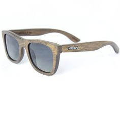 Wood Fellas JALO Sonnenbrille Brown, Holzsonnenbrille