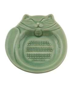 This Jade Green Cat Grater is perfect! #zulilyfinds