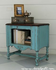 """Yard Sale find makeover... 