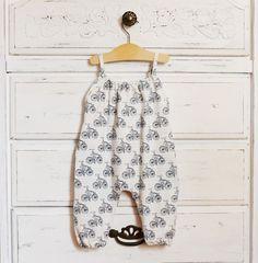 Easy, stylish baby romper pattern