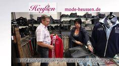 Die neue Sommer Herrenmode 2014 bei Heußen Mode im Straelen.
