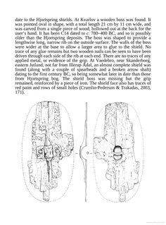 Hjortspring shields from the book Roman Shields