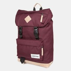 Eastpak Rowlo Backpack - In to the Out Burgundy