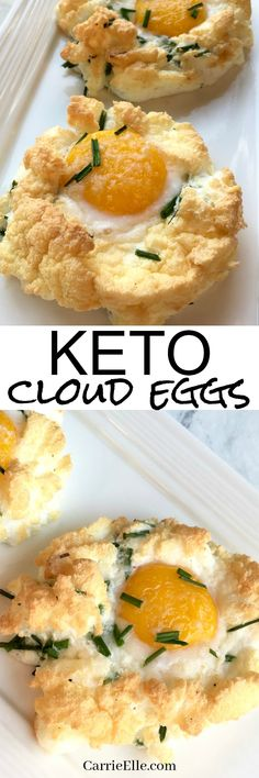 Keto Cloud Eggs