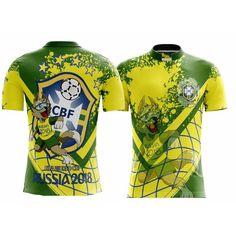 Camiseta Futebol Seleção Brasileira Brasil Copa 2018 Mundo ae17121125088