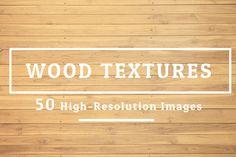 50 Wood Texture Background Set 02 by FWStudio on Creative Market