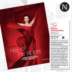 Every year Beauty Inc ranks the world's top 100 beauty companies and this year, Nerium made the list! How To Find Out, How To Become, Nerium International, Beauty Companies, Beauty Sale, Look Younger, Anti Aging Cream, Aging Gracefully, Helping People