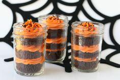 Glorious Treats » Halloween Cupcakes in a Jar
