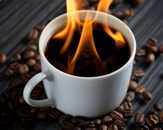 Java Lava: Flaming Coffee With Brandy: