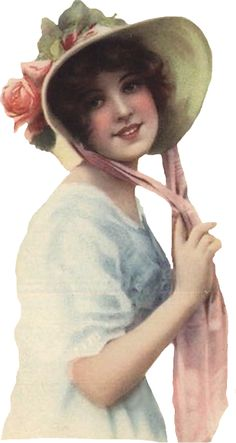tube femme Vintage Greeting Cards, Vintage Ephemera, Victorian Women, Victorian Era, Paper Templates, Paper Ornaments, Make Pictures, Christmas Clipart, Vintage Illustrations