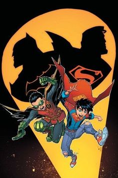 """IN THE NAME OF THE FATHER"" part two! Superman and Batman are up against the ropes, and it's up to Superboy and Robin to save the day— but can they work together long enough to get the job done? Writt"