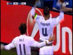 #فيديو راموس يسجل الهدف الأول لـ #ريال_مدريد في شباك #اتليتكو_مدريد 1 - 0 #الوطن #ريال_مدريد_اتليتكو