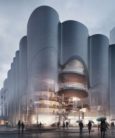zaha hadid & mecanoo among firms honorably mentioned in munich concert hall competition