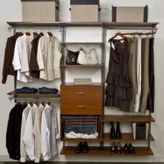 @Overstock - This 7-foot FreedomRail white closet kit is the perfect storage solution for any room in your house. The kit is completely adjustable, move shelves up and down or left and right at any time without tools. http://www.overstock.com/Home-Garden/freedomRail-7-foot-White-Wood-Closet-Kit/6423747/product.html?CID=214117 $826.34