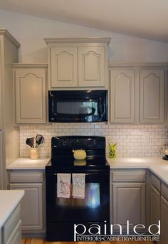Bye Honey Oak Cabinets Hello Brighter Kitchen Huge Kitchens And