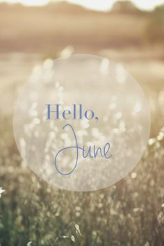 Hello, June - Morgane LB
