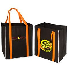 Replace paper or plastic shopping bags with this reusable, reflective shopper tote bag!