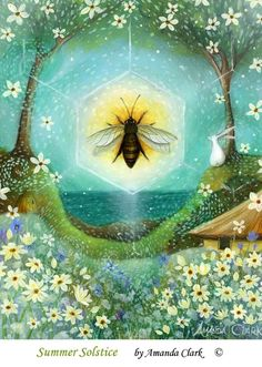 ≗ The Bee's Reverie ≗ by chasingthegreenfaerie