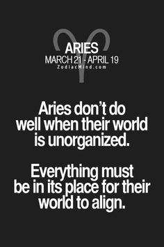 #Aries #zodiactraits #signs